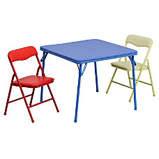 Flash Furniture Kids Colorful Table With
