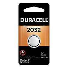 Duracell 3 Volt Lithium 2032 Coin