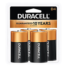 Duracell Coppertop Alkaline D Batteries Pack