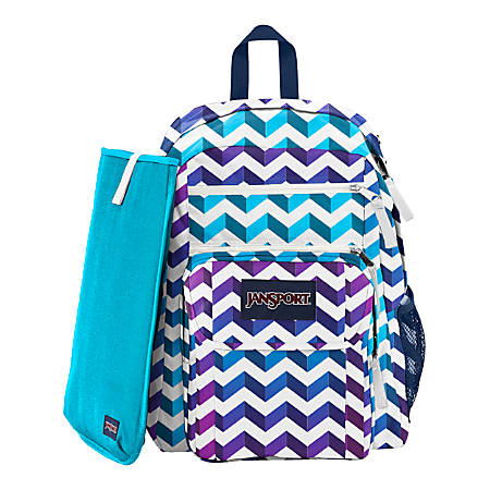 JanSport Digital Big Student Backpack With 15 Laptop Pocket ...