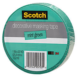 Scotch Decorative Masking Tape 1 x