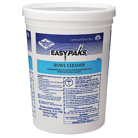 Easy Pak Bowl Cleaner, Lavender Scent, Pack Of 90