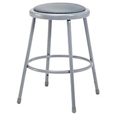 National Public Seating Vinyl Padded Stool