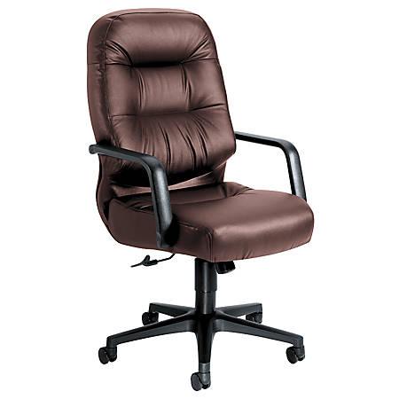 HON® Pillow-Soft® Executive Chair (H2091), Burgundy