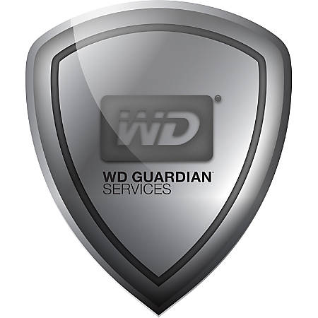 WD Guardian Express - Plan - 1 Year - Warranty - Technical - Parts - Physical Service