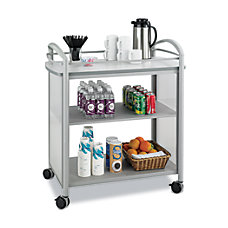 Safco Impromptu 1 Shelf Steel Beverage