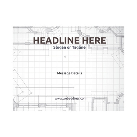 Custom flyers horizontal blueprints by office depot officemax malvernweather Choice Image
