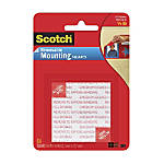 "Scotch® Removable Foam Mounting Squares, 1/2"" x 1/2"", Pack Of 64"