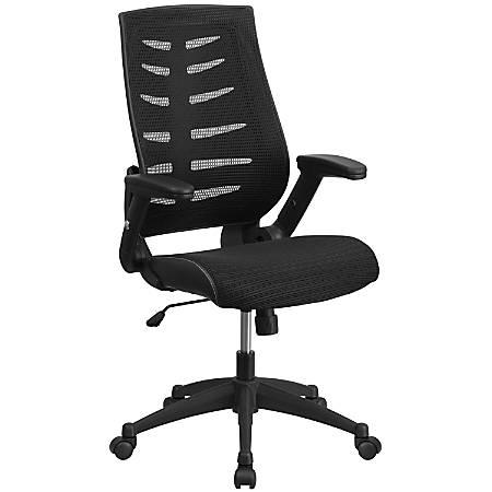 Flash Furniture Designer Mesh High-Back Swivel Chair, Black