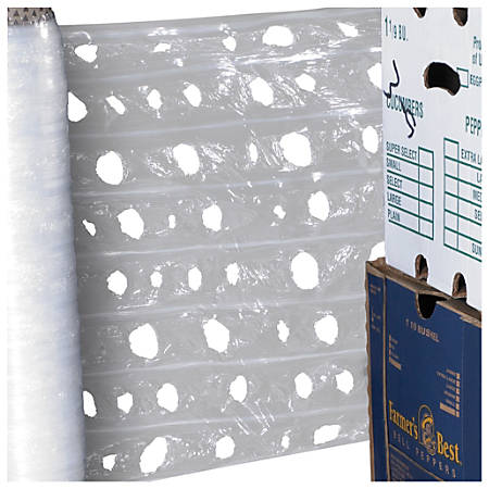 """Office Depot® Brand Vented Pallet Wrap, 20"""" x 3,280', Clear"""