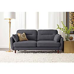 Serta Sierra Collection Sofa Slate GrayChestnut