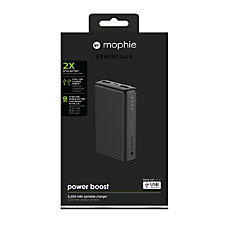 mophie Boost Powerbank 5200 mAh Black