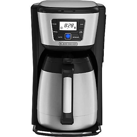 Black & Decker 12-Cup Thermal Coffeemaker