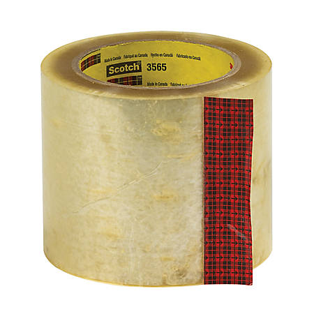 "3M® 3565 Label Protection Tape, 4"" x 110 Yd., Clear, Case Of 18"