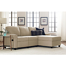 Serta Copenhagen Reclining Sectional With Storage