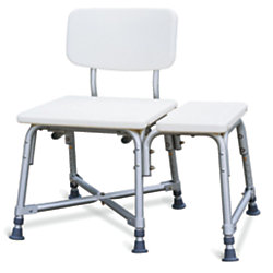 Guardian Bariatric Transfer Bench, White