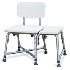 Guardian Bariatric Transfer Bench White