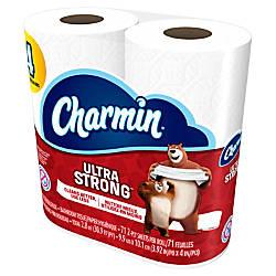 Charmin 2 Ply Bathroom Tissue Ultra