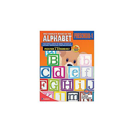 Carson-Dellosa The Complete Book Of ... Alphabet