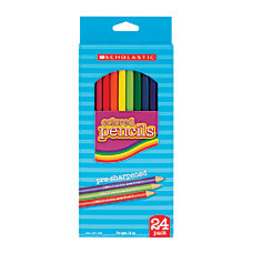 Scholastic Color Pencils 33 mm Assorted
