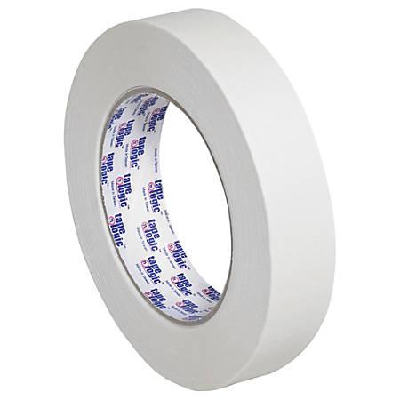 "Tape Logic® 2600 Masking Tape, 3"" Core, 1"" x 180', Natural, Pack Of 12"