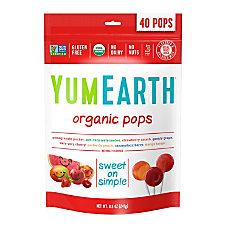 Yummy Earth Organic Lollipops 85 Oz