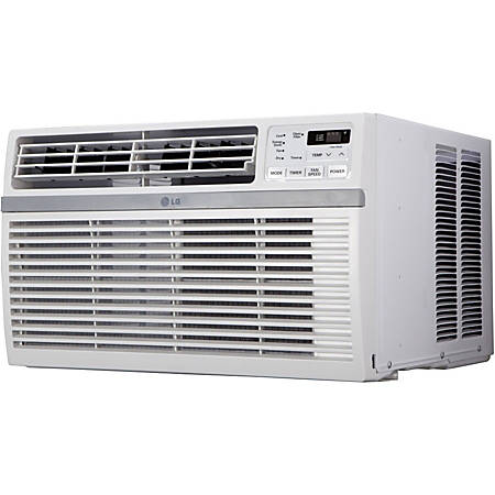 LG 12000 BTU Window Air Conditioner - Cooler - 3516.85 W Cooling Capacity - 550 Sq. ft. Coverage - Yes - Washable - Remote Control - Yes - White