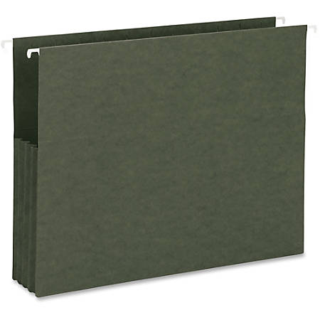 """Business Source Hanging File Pockets - Letter - 8 1/2"""" x 11"""" Sheet Size - 3 1/2"""" Expansion - Recycled - 10 / Box"""