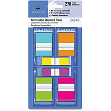 Sparco Assorted Pop Up Flags Combo