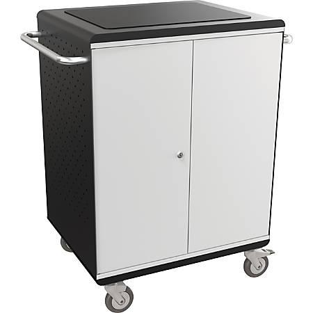 "Balt La Cart Tablet Security And Charging Cart, 36 3/4""H x 31 3/4""W x 20 1/8""D, Charcoal"