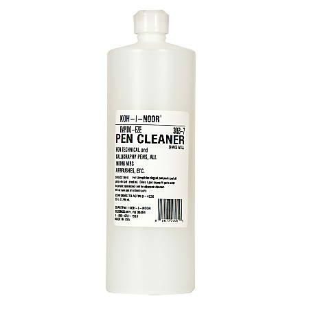 Koh-I-Noor Rapido-Eze Pen Cleaner, 32 Oz