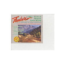 Fredrix Archival Linen Canvas Board 8