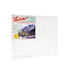 Fredrix Archival Linen Canvas Board 16