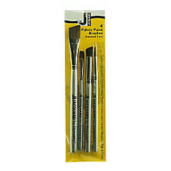 Jacquard Fabric Paint Brushes Assorted Sizes