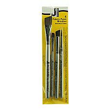 Jacquard Fabric Paint Brushes Assorted Sizes