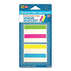 Redi Tag Removable Index Tabs Assorted