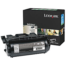 Lexmark 64015HA Return Program High Yield