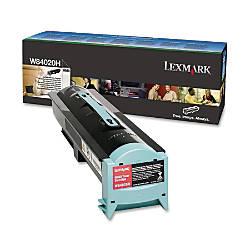 Lexmark W84020H Black Toner Cartridge