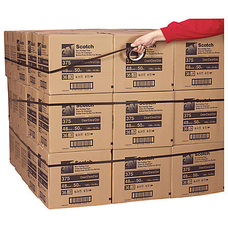 """3M® 8898 Tensilized Poly Strapping Tape, 1/2"""" x 60 Yd., Blue, Case Of 72"""