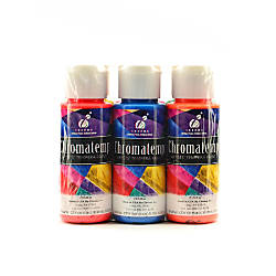 Chroma Inc ChromaTemp Artists Fluorescent Tempera