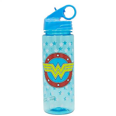 Silver Buffalo Licensed Water Bottle, Wonder Woman, 20 Oz