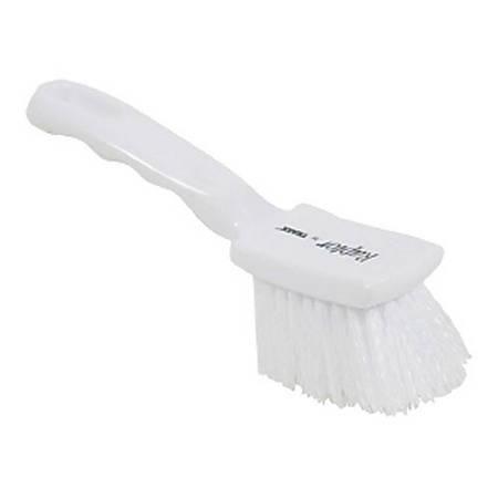 "Carlisle Multipurpose Scrub Brush, 1-1/2"" x 7-1/4"", White"