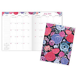 AT A GLANCE Midnight Rose Monthly