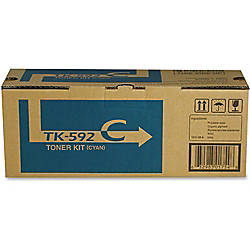 Kyocera TK 592C Original Toner Cartridge