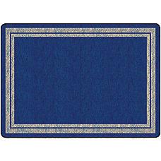 Flagship Carpet Double Border Rug Rectangle