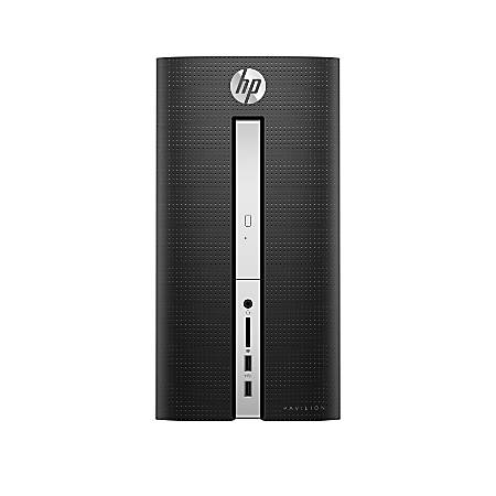 HP Pavilion 510-p030 Desktop PC, Intel® Core™ i7, 12GB Memory, 1TB Hard Drive, Windows® 10 Home