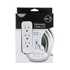 Cordinate Surge 3 Outlet 16 AWG