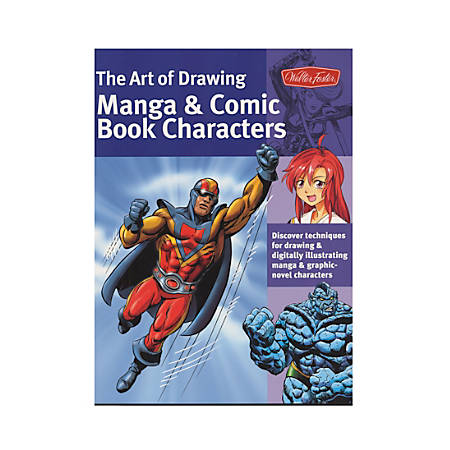 Walter Foster The Art Of Drawing Manga And Comic Book Characters By Bob Berry & Jeannie Lee