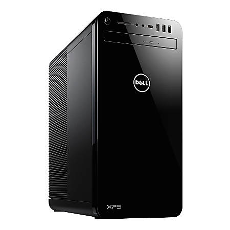 Dell™ XPS 8930 Desktop PC, Intel® Core™ i7, 16GB Memory, 2TB Hard Drive/512GB Solid State Drive, Windows® 10 Professional, GeForce GTX 1080