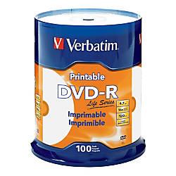 Verbatim Life Series DVD R Printable